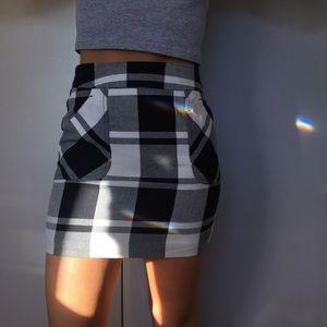 Tommy Hilfiger Plaid Mini Skirt
